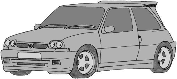 Dessin gt turbo - Dessin voiture tuning ...