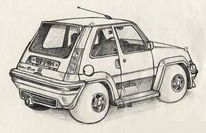 Dessin gt turbo - Caricature voiture ...